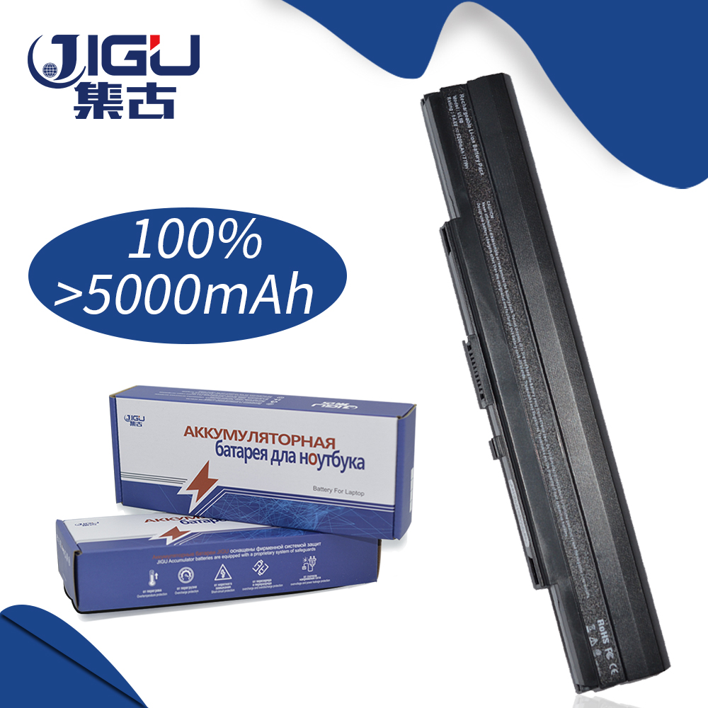 JIGU Laptop Battery For Asus A42-UL50 UL80 UL80V UL80Ag UL80A UL80VS UL50A UL30 UL50 UL30A UL50VS UL50Vt UL50AT аккумуляторная батарея topon top ul30 5200мач для ноутбуков asus ul30a jt vt ul50ag at vg ul50vs vt ul80ag jt vs vt