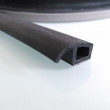 4 шт/много P тип автомобиля звукоизоляция уплотнение уплотнительные резиновые газа уплотнение Шума Погода Резина 3 м Скотч уплотнение двери автомобиля