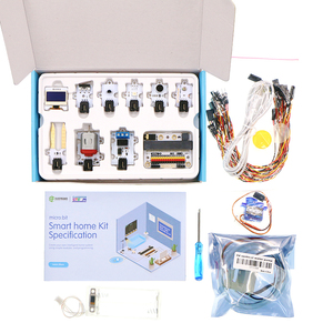 Image 1 - マイクロ: ビットスマートホームキット (TMP36 温度センサー、音/クラッシュセンサー、サーボ、モーター電気ショック療法。) 、子供のためのプログラミング MB0018