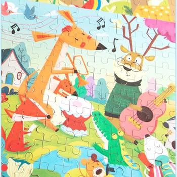 120 Pieces 3D Animal Cartoon Jigsaw Puzzle