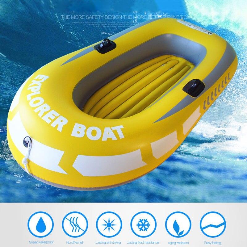 Bateau en caoutchouc kayak PVC bateau gonflable Sport outils pratique gonflable individuel professionnel