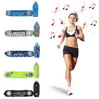 Adjustable Running Belt Pack Bottle Holder Waist Bag Outdoor Sport Fitness Marathon Music Waist Bag With Audio Amplifier Speaker