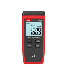 UNI-T UT373 Mini Digital Non-contact Laser Tachometer RPM Range 10-99999RPM Tachometer Odometer Km/h   Backlight ms6208b non contact digital tachometer rpm meter with 50 99999rpm rotation speed range digital laser tacometro mastech