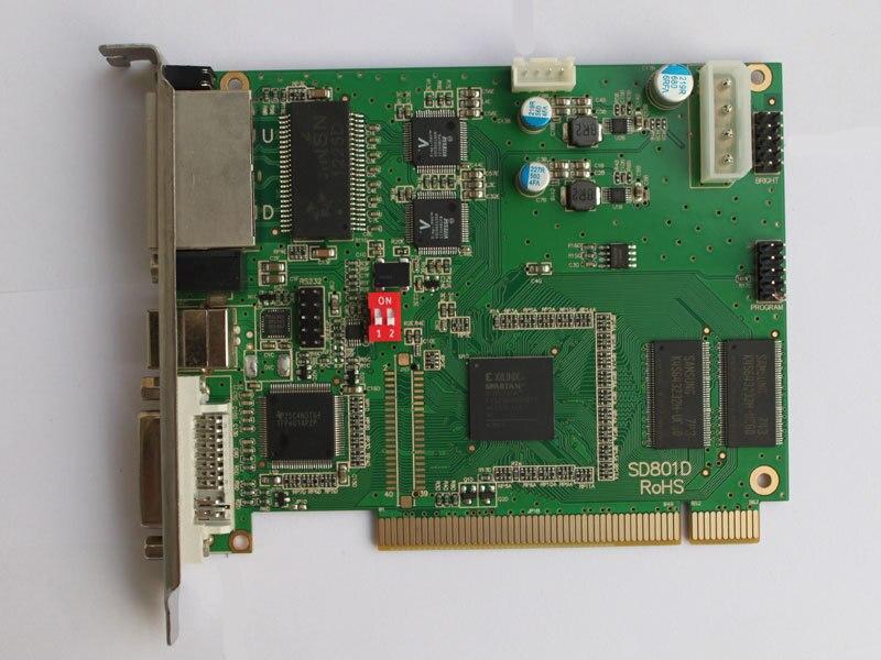 SRY LINSN TS802D Sending Card , Full Color LED Video Display LINSN Sending Card