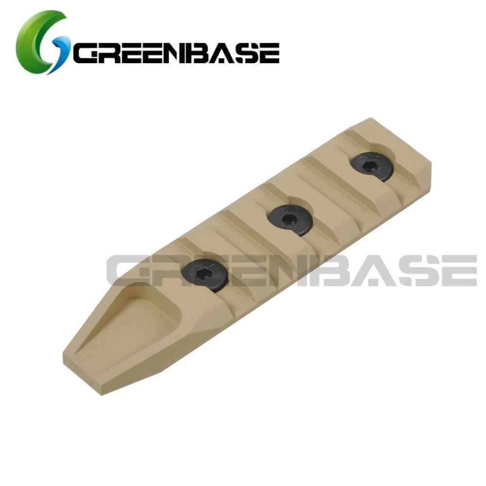 Greenbase Keymod-rail jachtaccessoires 5 slots Keymod-handbescherming - Jacht - Foto 4