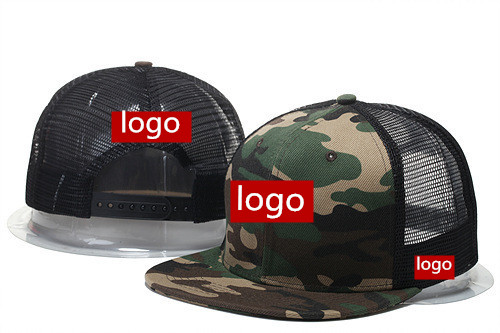c1e6a37a095 Wholesale 100pcs lot Custom Made Baseball Caps 3D Embroidery 6 Panels  Snapback Men Women Team Mesh Hats Summer Gorras-in Baseball Caps from  Apparel ...