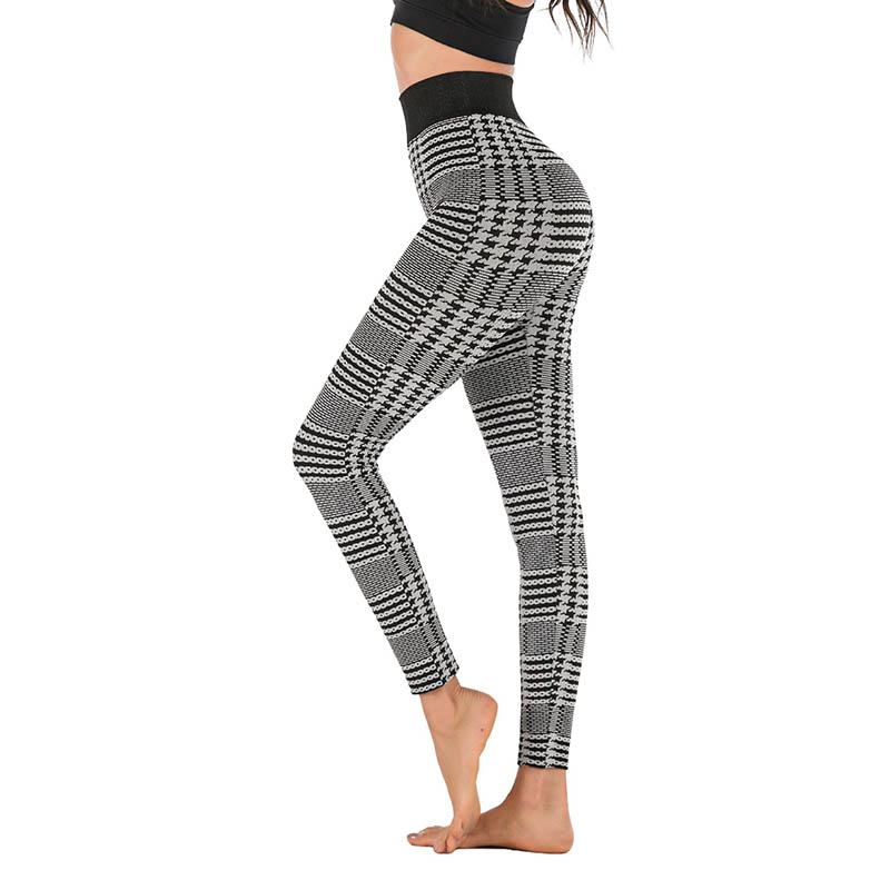 Kaminsky New Black Plaid Waist Plaid Leggings Women High Waist Seamless Jeggings Female Push Up Skinny Workout Leggings Leggings Aliexpress