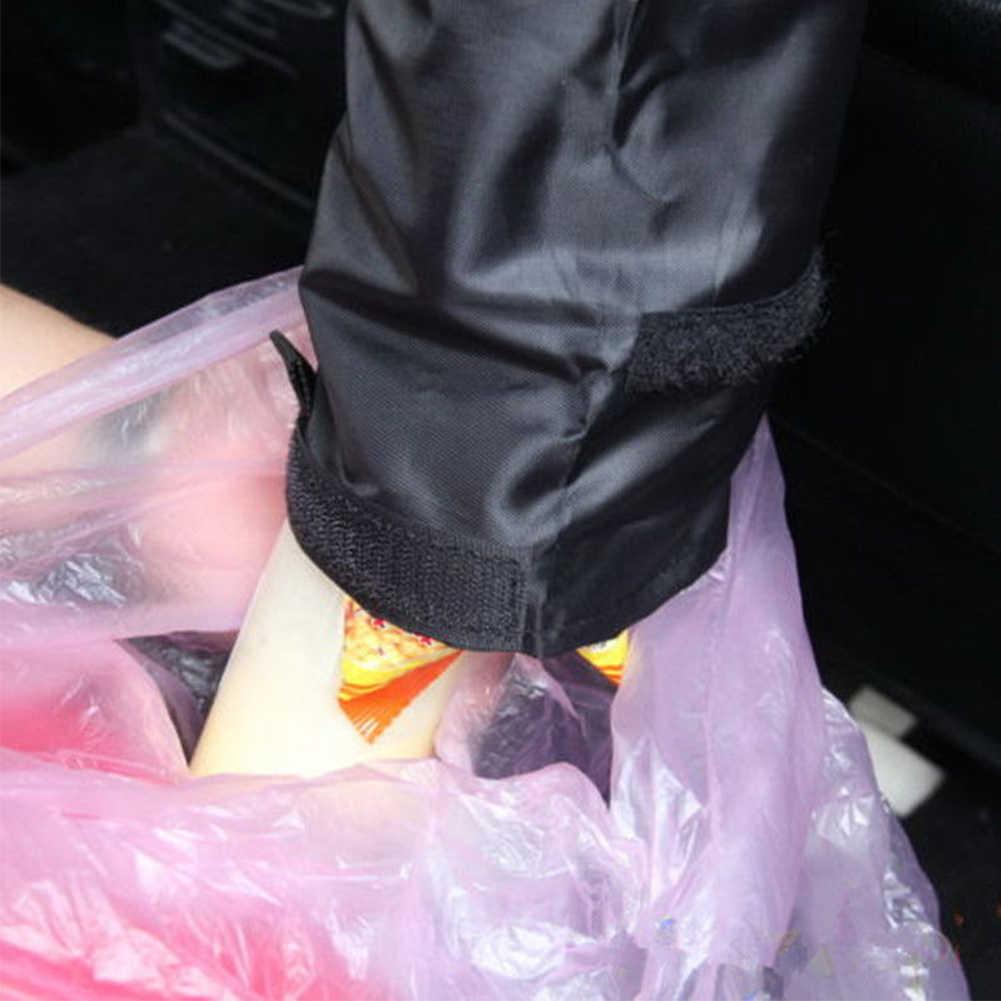 Caixa de armazenamento de Acessórios Auto Lata De Lixo Cesta Interior Pendurado Lixo Carro de Lixo Recipiente Lavável Confortável Assento de Volta