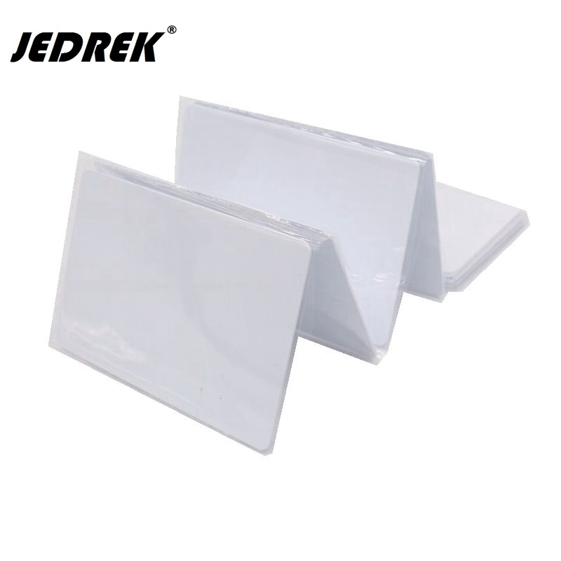 13.56mhz ISO14443A PVC F1108 Chip 1K Card Inkjet Printable White Pvc Card