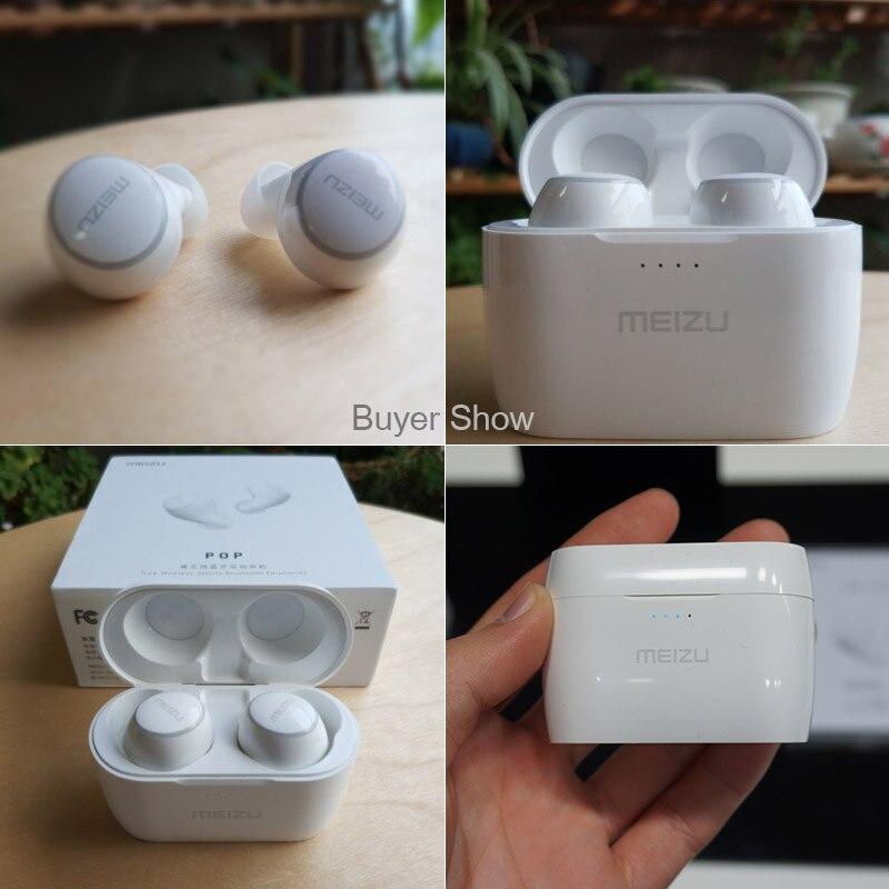 Meizu POP TW50 inalámbrica Bluetooth auriculares Mini deporte Bluetooth 4,2 auriculares Meizu teléfono ilimitado dual inalámbrico diseño - 2