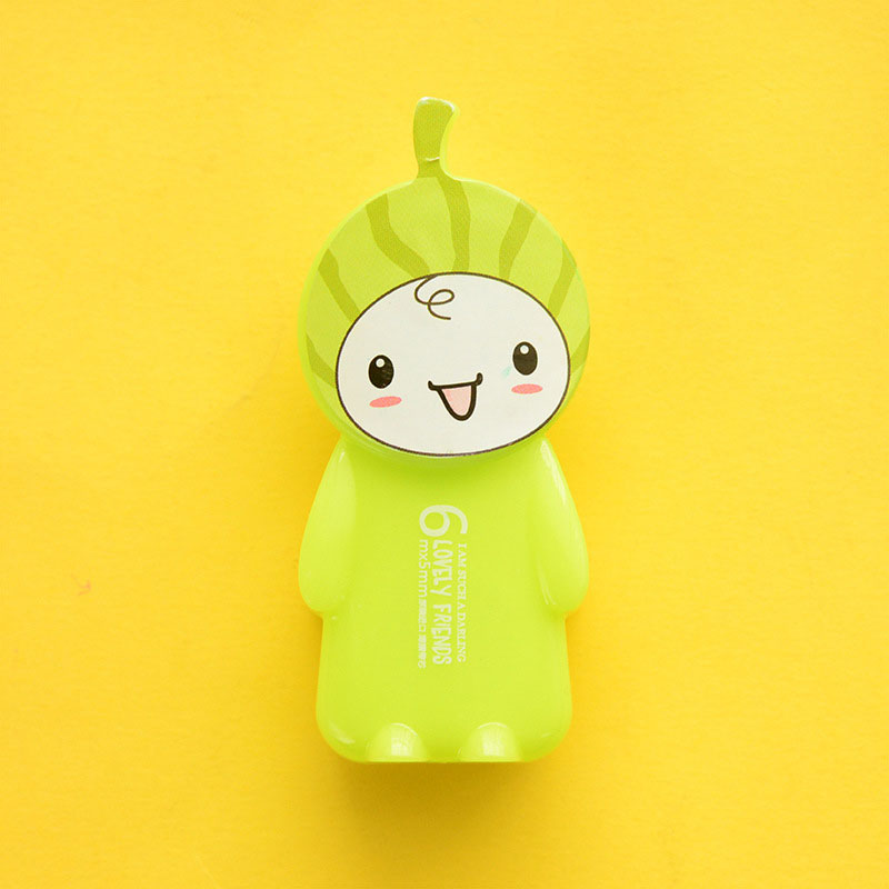 Купить с кэшбэком 1pcs cute Happy animal correction tape material creative kawaii stationery office school supplies papelaria Alteration 5M