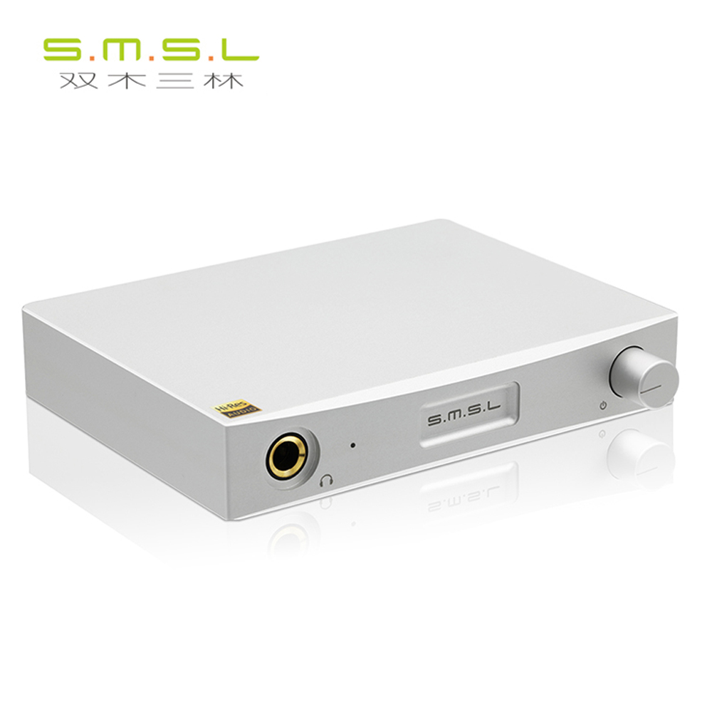 цена на NEW SMSL SAP-12 Class A/B HIFI Headphones Amplifier RCA input/output 6.35mm Headphone output