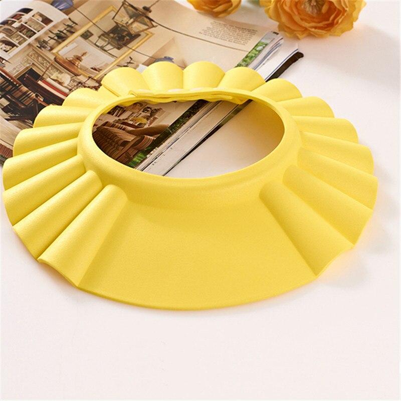 Baby Boys Girls Wash Hair Shield Infant Kid Safe Shampoo Bath Shower Cap Hat