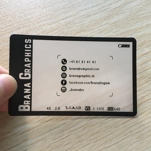 Image 2 - Personalized 200pcs/one design 85.5*54mm Wholesale Custom Printing Transparent Plastic Business PVC ID Cards