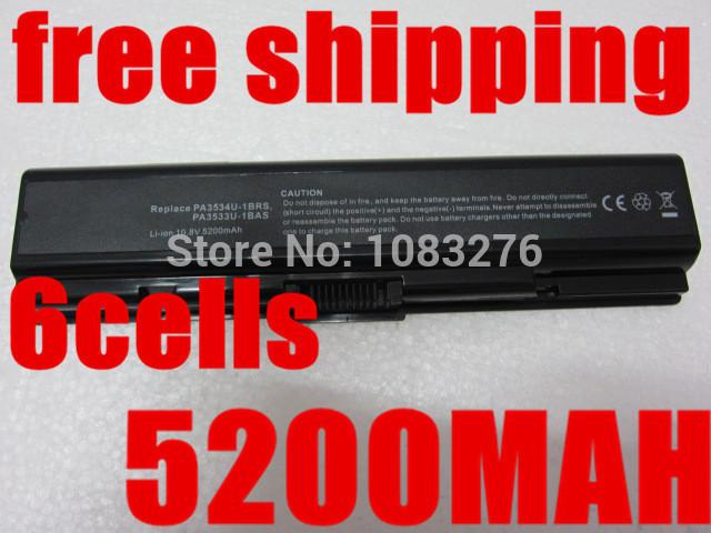 Bateria do portátil para toshiba pa3534u-1bas pa3534u-1brs satellite a200 a205 a210 a215 a300 l300 l450d l500 l505 l555 m200 pabas098
