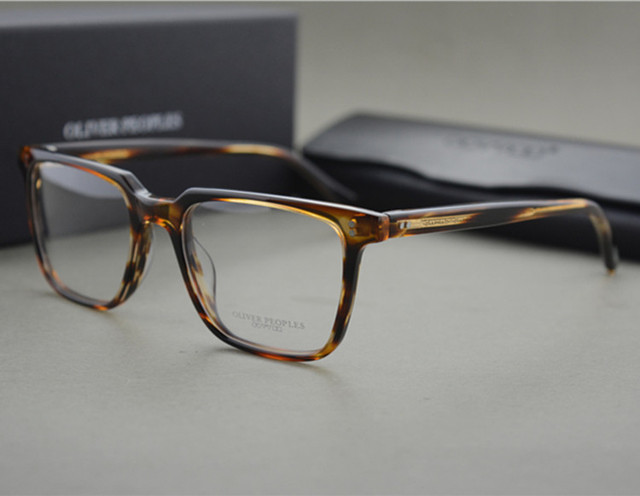 09a1e2670e1 Famous Brand Optical Eyewear Oliver Peoples NDG-1-P Square Vintage Myopia  Glasses Frame Men and Women Retro Eyeglasses Frames