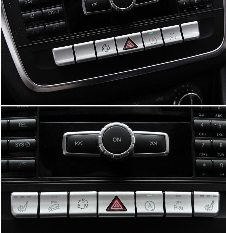 Estilo do carro cd painel console central