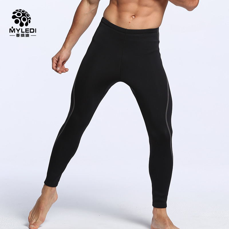 2mm Neoprene Men Womens Wetsuits Pants Super Strech Surfing Diving Pants Neoprene Laminating Nylon Surfing Diving Wetsuits Pant