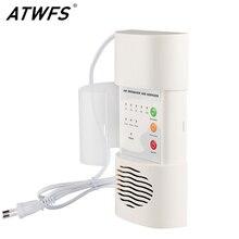 Atwfs Air Ozonizer Luchtreiniger Thuis Deodorizer Ozon Ionisator Generator Sterilisatie Kiemdodende Filter Desinfectie Schone Kamer