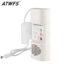 ATWFS aire ozonizador purificador de aire casa desodorante ozono ionizador generador de esterilización germicida de la desinfección habitación limpia