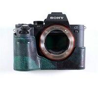 Cam in LCP 003 Camera Case Digital Camera Case de Proteção de Couro para Sony A7RM2|Estojos para câmera/vídeo| |  -