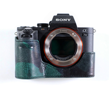 Cam-in LCP-003 Camera Case Digital Camera Case de Proteção de Couro para Sony A7RM2