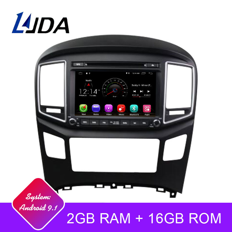 LJDA Android 9.1 Car dvd player for Hyundai H1 Grand Starex 2016 2017 Car Radio GPS Navigation Stereo Multimedia WIFI Auto Audio