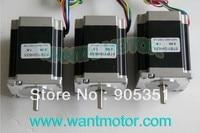3 PCS 6 Leads 18 9Kgcm 1 8Degre 78mm CNC NEMA 23 Stepper Motor Of Wantai