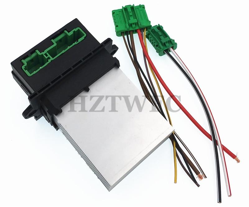 Standard HVAC Blower Motor Resistor Connector Pigtail S916 NOS