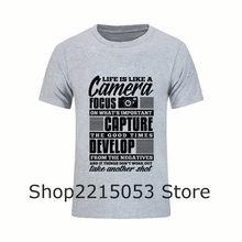 Crazy T Shirts camera FOCUS capture delevelop Round Neck Mens TShirts  feyenoords jersey Clothing Funny male 4b5bfbfb27a38
