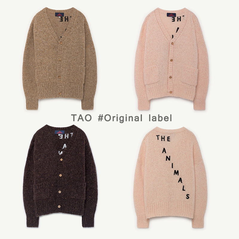 BBK Pre-sale TAO Kids Knitwear Baby girls Cardigan Sweater boys tops Outwear Letters Knitted Clothes Toddlers Baby Clothing C* bbk pre sale tao 2018 autumn kids clothes boys pullover knitted sweater cotton winter tops strap pattern baby girls sweaters c