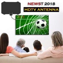 120 Miles 1080P Внутренняя цифровая ТВ антенна Приемник сигнала Усилитель ТВ радиус прибой лиса телевизионная антенна антенны усилитель мини
