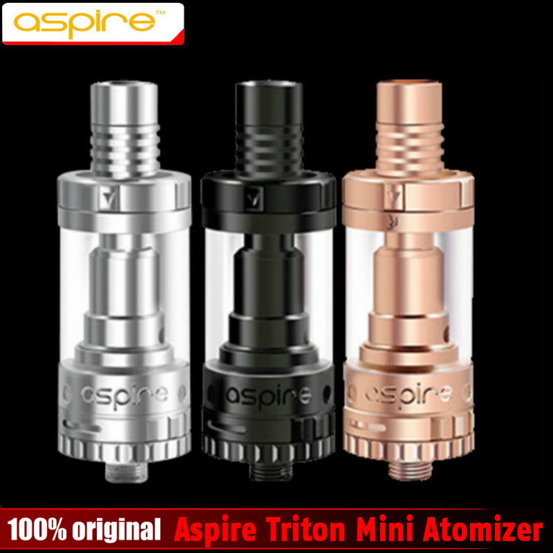 100% Original Aspire Triton Mini Atomizer 2ml Pyrex Clearomizer 510 Atomizer Sub ohm Tanks Top Filling wzsm laptop lcd flex video cable for dell inspiron 15r n5010 m5010 series