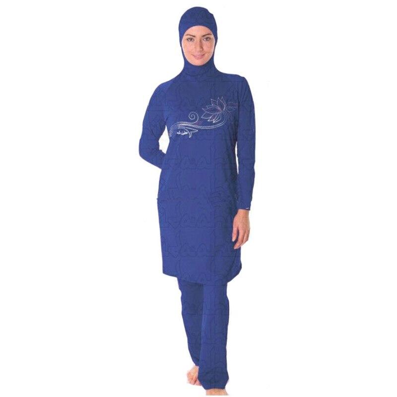 Maillot de bain femme maillot de bain maillot de bain musulman pour - Vêtements nationaux - Photo 2