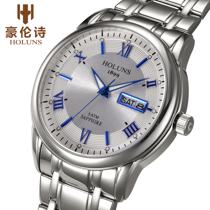 Luxury full stainless steel Watch Men Business Casual quartz Watches Military Wristwatch waterproof 2017 HOLUNS Relogio New SALE 2017 lige brand luxury full stainless steel watch men business casual quartz watches military wristwatch waterproof relogio