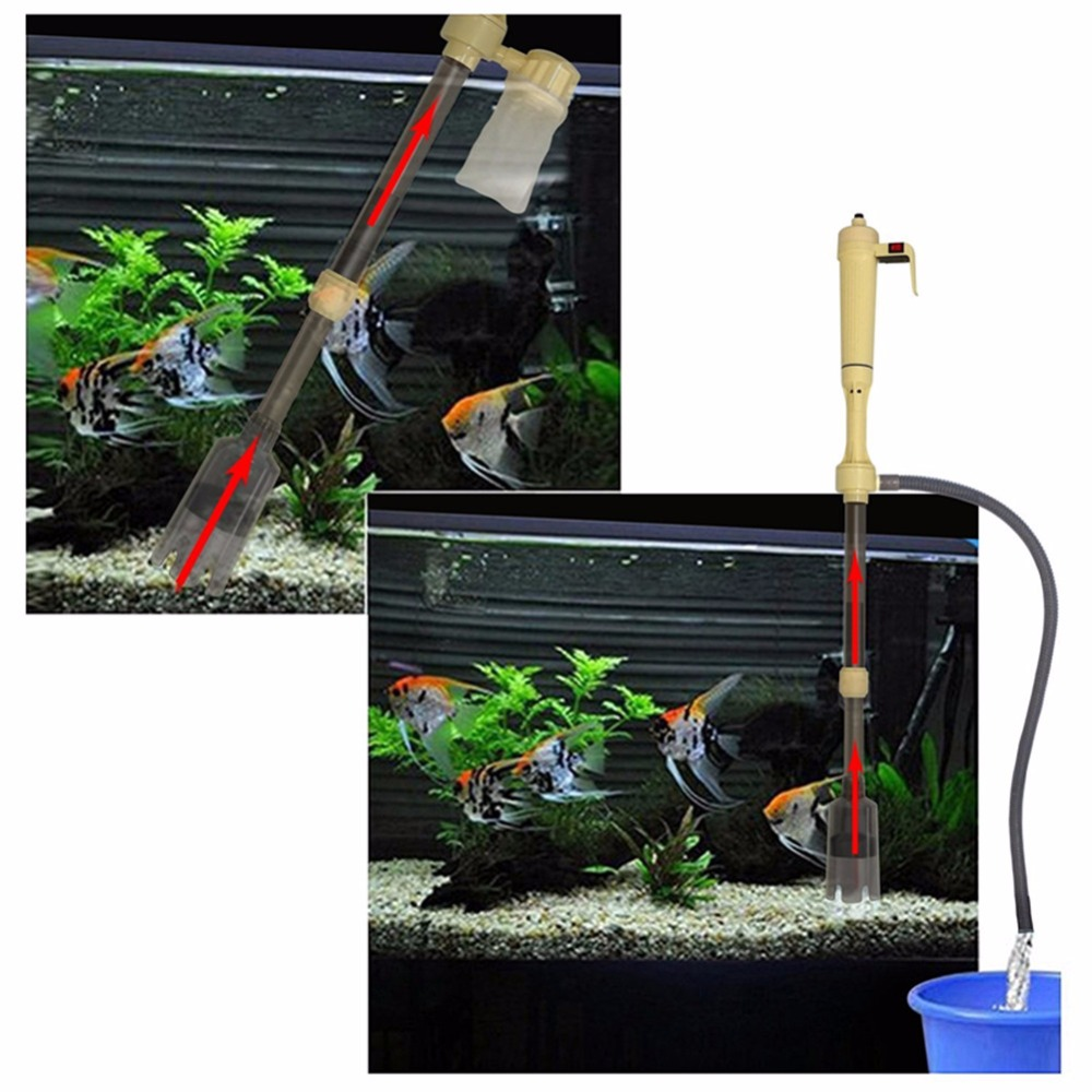 Image 5 - Nicrew Electric Aquarium Gravel Cleaner Water Filter Washer Siphon Vacuum Water Pump for Fish Tank Aquarium Cleaner Accessoriesaquarium gravel cleanerwater siphon pumpgravel cleaner -