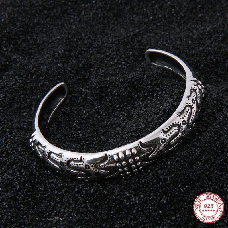 Yage Odins Bangle (Draupnir Bangle) Sterling Silver Viking bangle Scandinavian Norse Viking JewelryYage Odins Bangle (Draupnir Bangle) Sterling Silver Viking bangle Scandinavian Norse Viking Jewelry