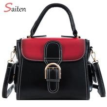 Contrast Color Tote Bags High Quality Handbags Women Leather Designer Fashion feminine Shoulder Bag Multifunctional Handbag