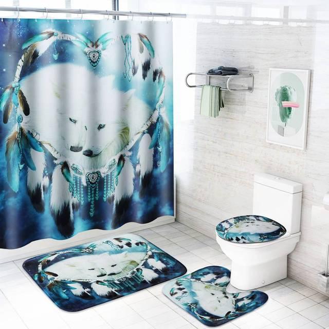 Bathroom Shower Curtain 3