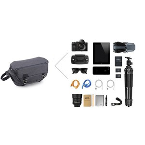 Image 5 - Bolso clásico de viaje para cámara dslr impermeable de poliéster con cremallera hombro mensajero foto bolsas funda para cámaras de vídeo Canon Nikon Sony