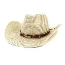 2019 West Cowboy Straw Hat for Men and Women Outdoor Summer Hat Jazz Hat west cowboy style boots hat print bath rug