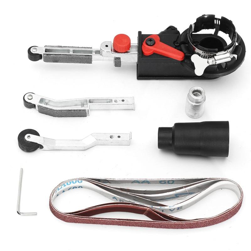 цена на High Quality DIY Sander Sanding Belt Adapter For 100mm 4 Inch Electric Angle Grinder