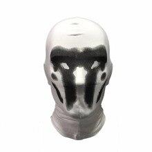 111febf847cc BOOCRE Anime Watchmen Cosplay Rorschach Walter Kovacs Masks Headgear All  Inclusive Printing Mask