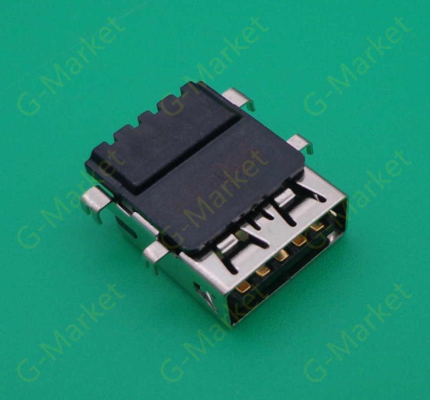 Connectors 2-100 PCS 3.0 USB Jack Socket Connector for DELL E6330 E6430S E5440 USB 3.0 Port Cable Length: 5 pcs