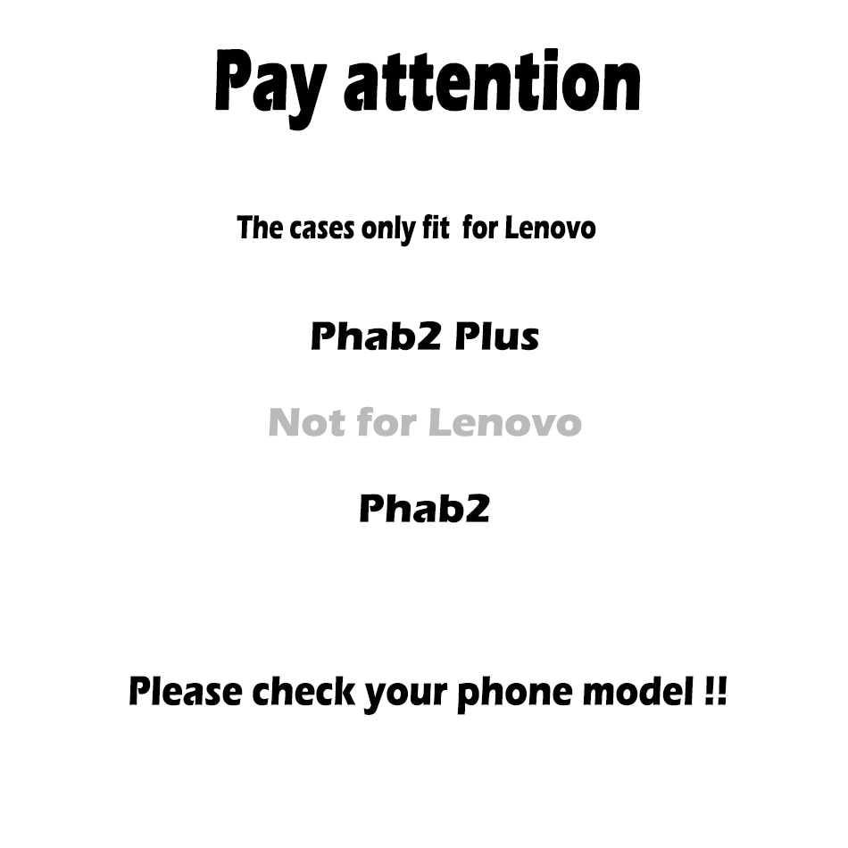 TPU سيليكون الهاتف الحالات لينوفو Phab 2 زائد غطاء Phab2 زائد PB2-670M PB2-670Y PB2-670N حقيبة أنيقة قذيفة الجلد حالة