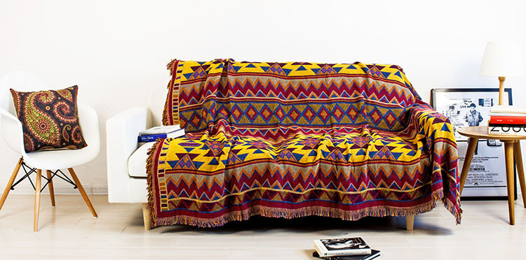 Beautiful Sofa Blanket Cover Ideas