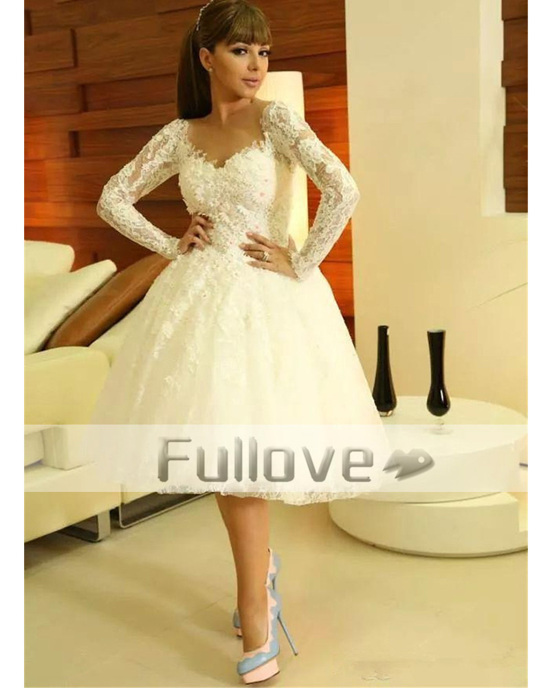 Popular Long Sleeve Lace Prom Dress-Buy Cheap Long Sleeve Lace ...
