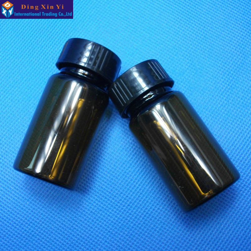 20ML 10pcs/lot Brown Glass Bottles/Vials With PP Screw Lid Sample Screw Vials--Free Shipping