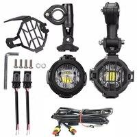 2pcs 40W LED Auxiliary Lamp 6000K Super Bright Fog Driving Light Kits LED Lighting Bulbs For