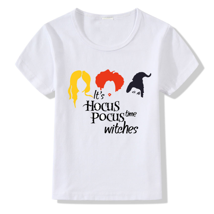 Hocus Pocus T shirt For Kids I Put A Spell On You Funny